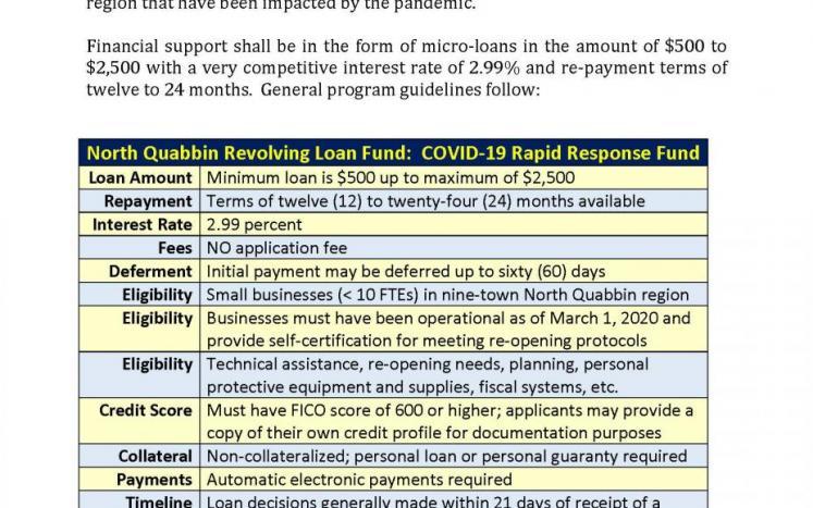NQLF COVID-19 Rapid Response Fund