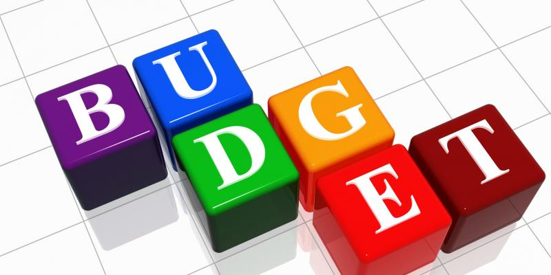Image of the word BUDGET