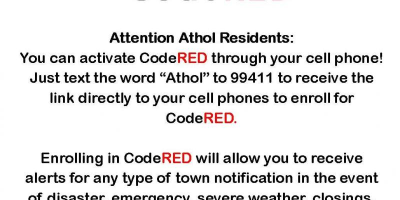 CodeRED Activation explanation form