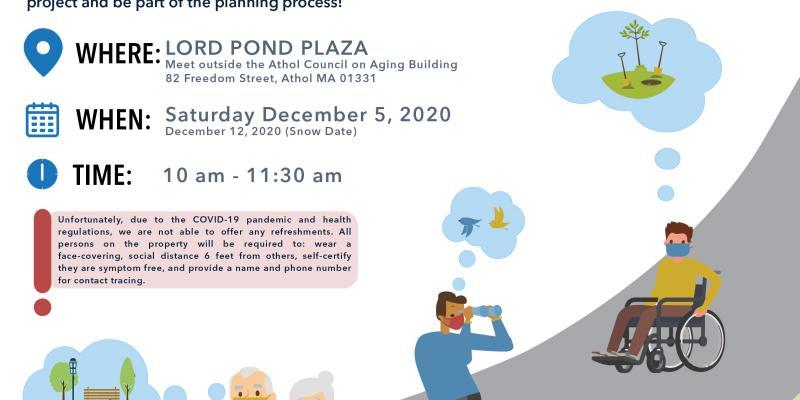 Lord Pond Plaza Site Walk - Sat., Dec. 12 @ 10AM